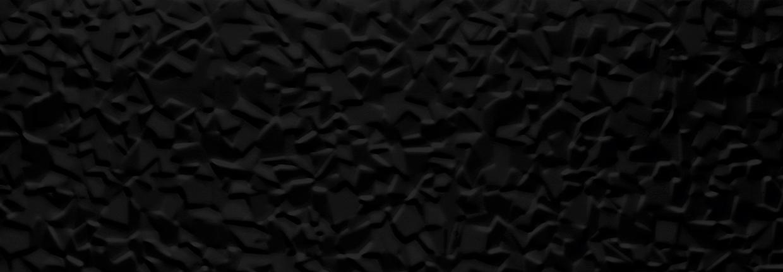 Tau Ceramica Sun iceberg black Wandfliese 25x75 glänzend