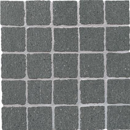 Ariostea Pietre High-Tech  Basalto Grigio ARI-MOS330M Mosaik 30x30 strukturiert R11