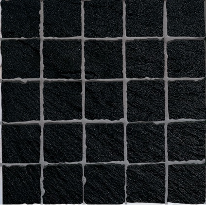 Ariostea Pietre High-Tech  Black Ardesia ARI-MOS277M Mosaik 30x30 strukturiert R10