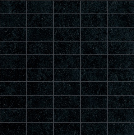 Ariostea Pietre High-Tech  Black Ardesia ARI-MBSA277 Mosaik 30x30 satiniert R10