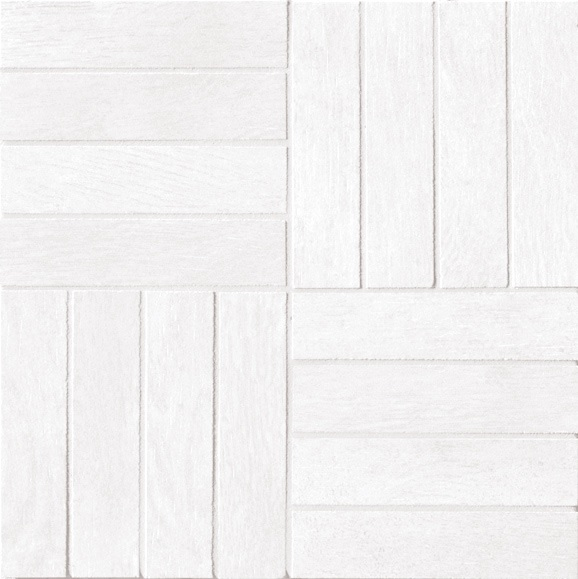 Ariostea Legni High-Tech Rovere Bianco ARI-DOM342 Mosaik 30x30 antik R10 Holzoptik
