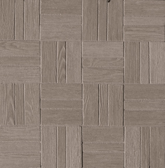 Ariostea Legni High-Tech Rovere Grigio ARI-DOMM335 Mosaik 30x30 antik R11 Holzoptik