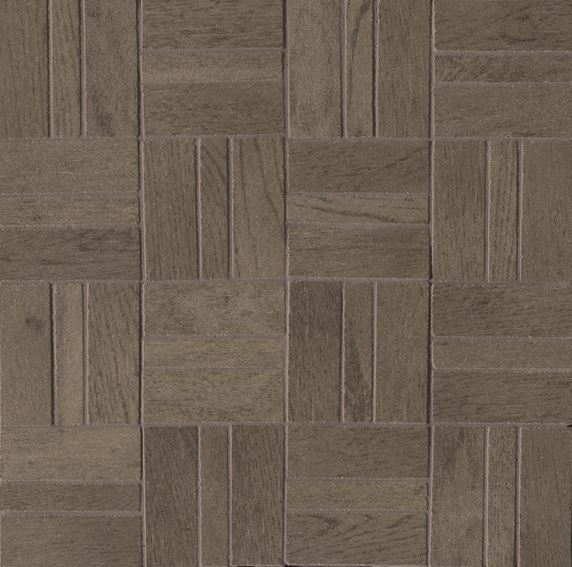 Ariostea Legni High-Tech Rovere Tundra ARI-DOMM380 Mosaik 30x30 antik R10 Holzoptik