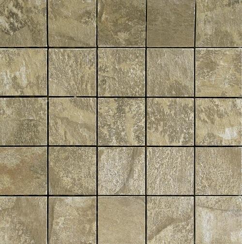 Del Conca Nat Grigio/Verde DEL-HNT3-MO Mosaik 30x30 geschiefert R12 A+B