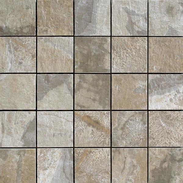 Del Conca Nat Grigio DEL-HNT5-MO Mosaik 30x30 geschiefert R12 A+B