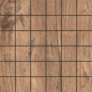 Del Conca Saloon Noce DEL-SA09-MO Mosaik 30x30 Holzoptik R9