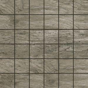 Del Conca Saloon Grigio Scuro DEL-SA15-MO Mosaik 30x30 Holzoptik R9