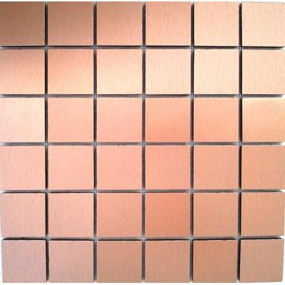 Metall Mosaik 4,8x4,8 bronce FP-S040 30x30
