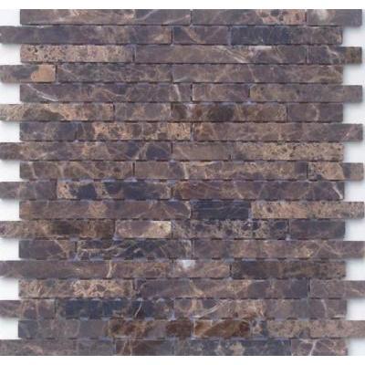 Naturstein Mosaik graubraun FP-ML0006-Z 30x30 poliert