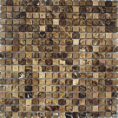 Naturstein Mosaik 1,5x1,5 braun FP-DD-012 30x30
