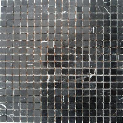 Naturstein Mosaik 1,5x1,5 schwarz FP-JDP022-15 30x30