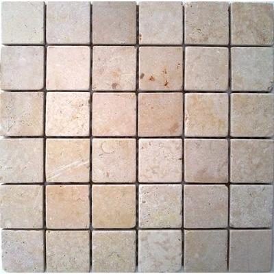 Naturstein Mosaik 5x5 travertin FP-TV-2220 30x30