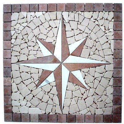 Naturstein Rosone red FP-NDA018-3 60x60 matt