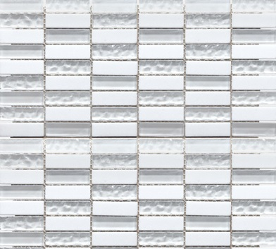 SKP Classico bianco SKP-23888 Mosaik 1,5x4,5
