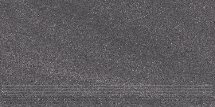 Paradyz Arkesia grafit PAR-FZD243386  Rillenstufe 60x30 matt/satiniert