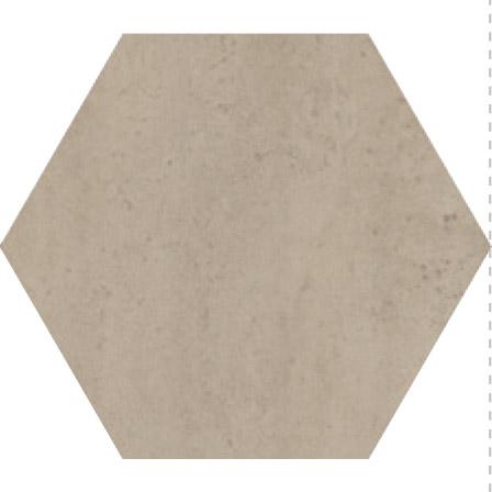 Savoia Domus  Cenere SA-S40137ESAA Bodenfliese 40x40 matt Betonoptik Hexagon