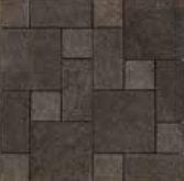 Todagres Stone Black TO-15385 Mosaico Modular 30x30 natural R9