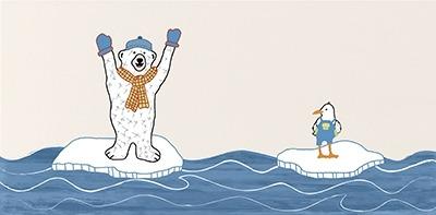 Steuler Tide - Arctic Bears bunt Y59225001 Dekorfliese 20x40 matt