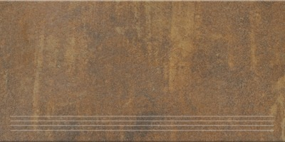 Steuler Terre rosso Y76034001 Treppenfliese 37,5x75 matt