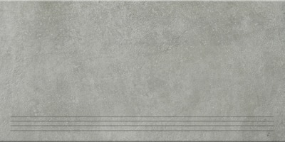 Steuler Terre grigio Y76044001 Treppenfliese 37,5x75 matt