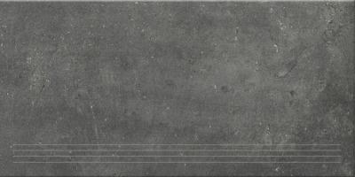 Steuler Terre nero Y76054001 Treppenfliese 37,5x75 matt
