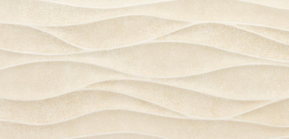 Tau Ceramica Yaiza brisa beige Wandfliese 25x75 matt
