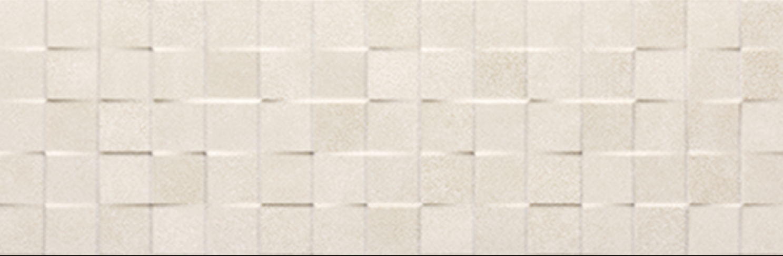 Tau Ceramica Yaiza cubic marfil Wandfliese 25x75 matt