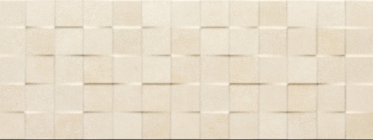 Tau Ceramica Yaiza cubic beige Wandfliese 25x75 matt