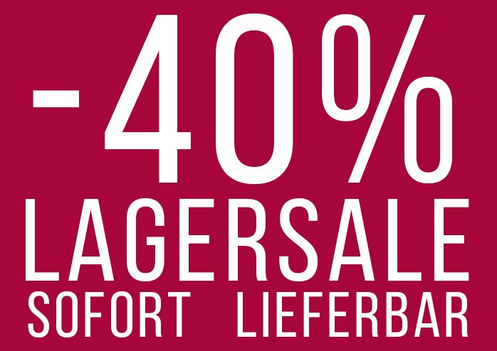 40% Lagersale